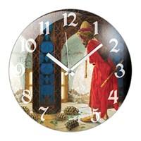 İf Clock Kaplumbağa Terbiyecisi Duvar Saati