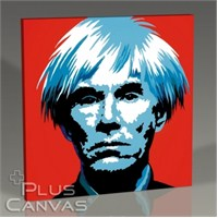 Pluscanvas - Andy Warhol - Self Portait Tablo