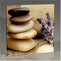 Pluscanvas - Pebbles And Lavander Tablo