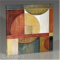 Pluscanvas - Circles İn Squares I Tablo
