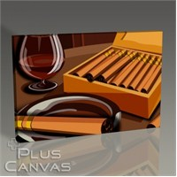 Pluscanvas - Veronica Moe - Cigars Tablo