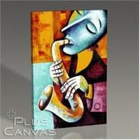 Pluscanvas - Marinne Vias - Instrument Playin Series Iıı Tablo