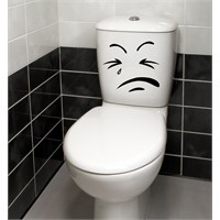 Dekorjinal Banyo Sticker Wc07