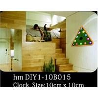 Karin Stickerli Tasarım Saat-54Cmx48cm