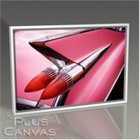 Pluscanvas - Pembe Cadillac Tablo
