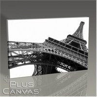 Pluscanvas - Paris - Eiffel Tower Perspective I Tablo