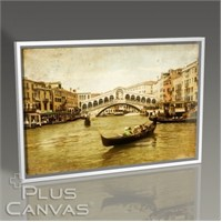 Pluscanvas - Venezia - Vintage Card Series I Tablo