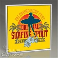 Pluscanvas - Original Surfing Spirit Tablo