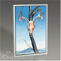 Pluscanvas - Georgia Okeeffe - Deers Skull With Pedernal 1936 Tablo