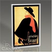 Pluscanvas - Toulouse Lautrec - Aristide Bruant Dans Son Cabaret Tablo