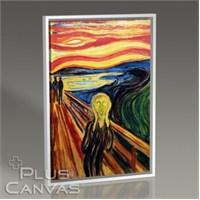 Pluscanvas - Edvard Munch - The Scream Tablo