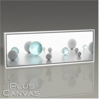 Pluscanvas - Transparent And Solid Balls Tablo