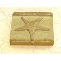 Deniz Yıldızı Altın Simli Mutfak - Banyo Gider Süsü