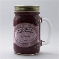 Mulberry Büyük Kavanoz Mum
