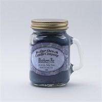 Blueberry Pıe Küçük Kavanoz Mum