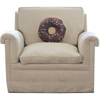 Çikolatalı Donut Tasarım Yastık
