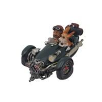 Siyah Motorlu Adam Figürlü Biblo