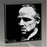 Pluscanvas - The Godfather - Don Corleone Tablo