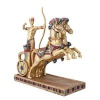 Antik Mısır Atlı Figürlü Biblo