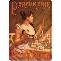Metal Poster - Felıx Potın Parfumerıe 15X20cm.
