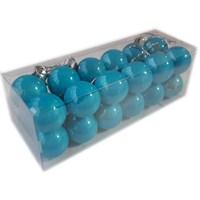 24 Lü Cici Top Süs Mavi Renk