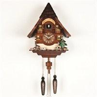 Çatılı (chalet) tip guguklu saat