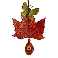 Kırmızıyaprak Üzeri Kelebek Nazarlık