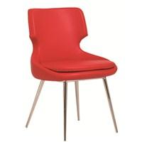 Nav Decoration Bolivya Sandalye Kırmızı