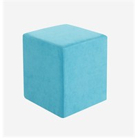 Cubic Puf Turkuaz