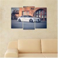 Dekoriza Audi Araba 3 Parçalı Kanvas Tablo 80X50cm