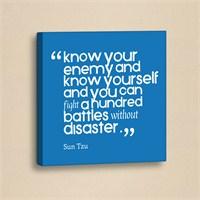 Dekorjinal Slogan Kanvas Tablo Slo001