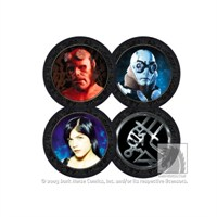 Hellboy Movie Photo Coaster Set Bardak Altlığı