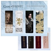 Game Of Thrones Magnetic Bookmark Set C Manyetik Kitap Ayracı