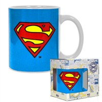 Dc Comics Superman Logo Ceramic Mug Bardak