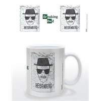 Breaking Bad Heisenberg Wanted Kupa Bardak