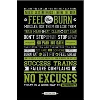Maxi Poster Gym Motivational