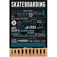 Maxi Poster Skateboarding The Good The Bad And T