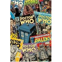 Maxi Poster Doctor Who Comic Montage