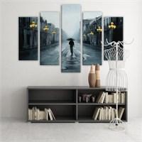 Dekoratif 5 Parçalı Kanvas Tablo-5K-Hb061015-52