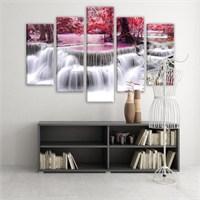 Dekoratif 5 Parçalı Kanvas Tablo-5K-Hb061015-62