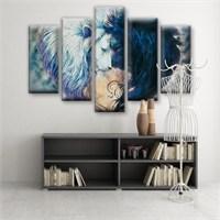Dekoratif 5 Parçalı Kanvas Tablo-5K-Hb061015-91