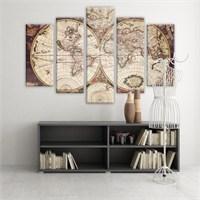 Dekoratif 5 Parçalı Kanvas Tablo-5K-Hb061015-159
