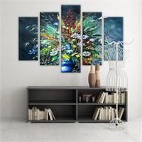 Dekoratif 5 Parçalı Kanvas Tablo-5K-Hb061015-246