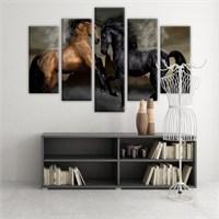 Dekoratif 5 Parçalı Kanvas Tablo-5K-Hb061015-264