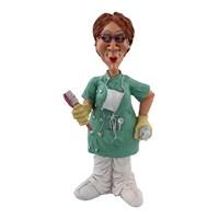 Bayan Diş Doktoru Figürlü Biblo