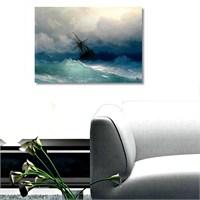 Tictac Fırtına - Kanvas Tablo - Büyük Boy