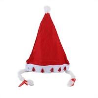 Carda Yılbaşı Işıklı Saç Örgülü Şapka