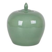 Altıncı Cadde Porselen Vazo 25 Cm