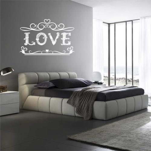 I Love My Wall Duvar Sticker Love Yazılı ( Sticker hediyeli! )
