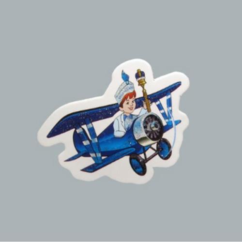 Tahtakale Toptancısı Sticker Sünnet Çocuğu Uçakta (50 Adet)